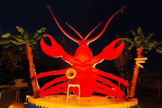 Lobster, symbol of completion