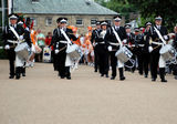 St John's Ambulance Band and majorettes