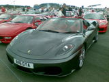 Ferrari 430 at the Silverstone Classic 2010