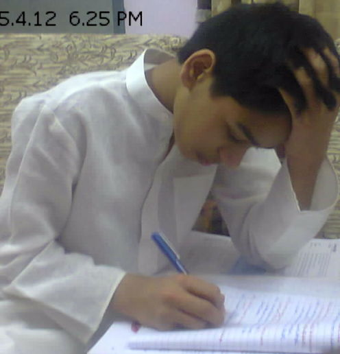 Tution time. School -tution -homeworks make this boy of class 7 a hard labour prisoner.