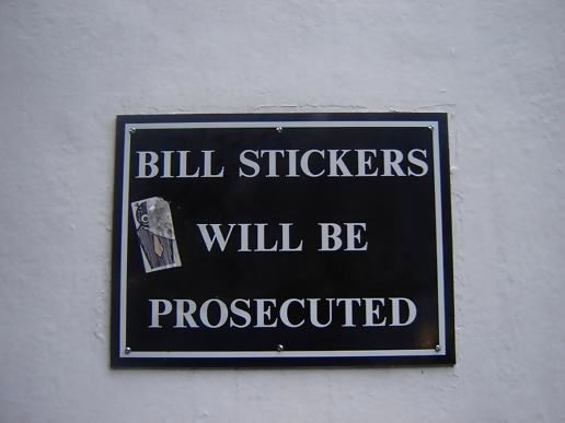 Bill Stickers