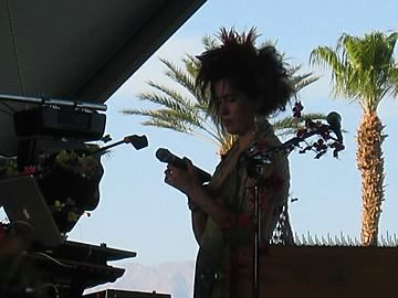 imogen heap pics from coachella .