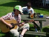 Jammin in the pub garden. Summer is definitely here!
