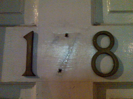 Door numbers, London, by day and night