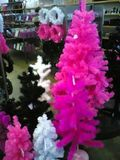 Remember, nothing says Christmas like pink feather trees ...