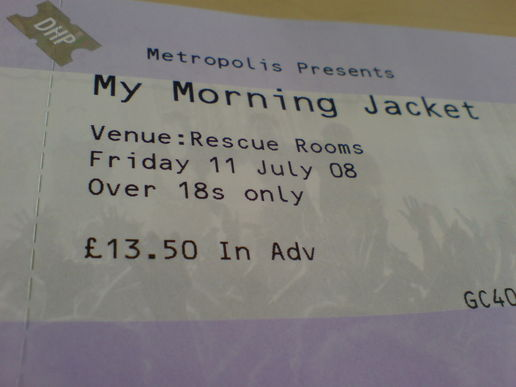 Going to see My Morning Jacket tonight!