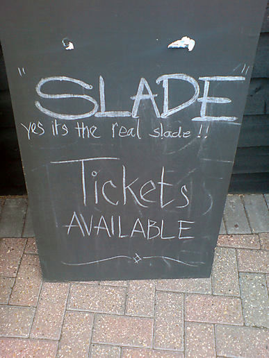 HESFES: Yes, it's the real Slade!