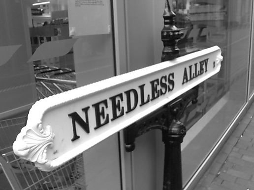 Needless Alley, Birmingham