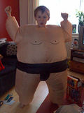 All I want for xmas is...an inflatable sumo suit!