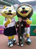 Jordan's first Villa game...