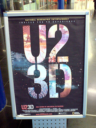 u2 3d movie bday at the middle of yesterday
