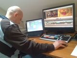 Editing of 'BVG' (Bureau for Big Questions) production for RKK,  in Hilversum (NL).