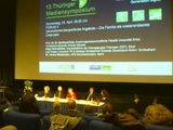 In paneldiscussion at 13. Thuringer Mediensymposium, in Erfurt (Germany).