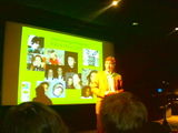 Presentation of new Kids & Docs youth documentary projects, in Amsterdam (NL).