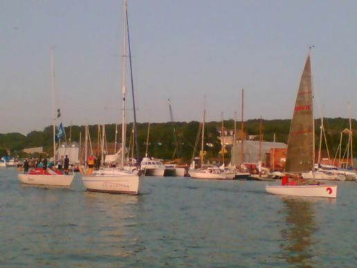 Cowes and coffee