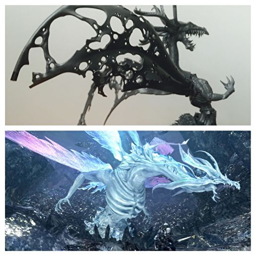 Seath The Scaleless Dark Souls Miniature Conversion