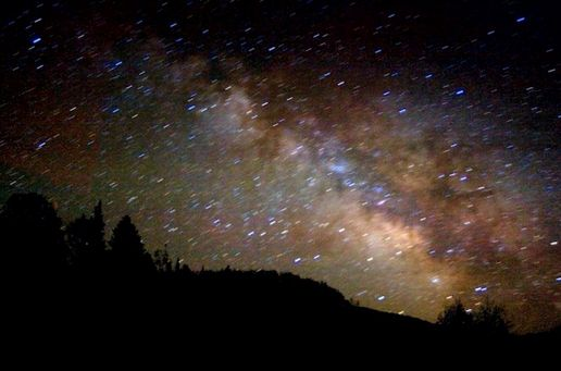 The Earth Moved: The night sky in Wyoming