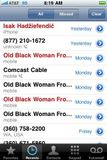 After 3 yrs of constant wrong number calls, I'm gonna miss u, Old Black Woman from Vallejo.