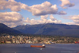 PHOTO, Today in Vancouver: Summer Snow on the Tips of our Mountains
