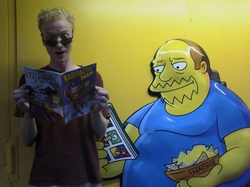 matty radioactive man comic book guy sunglasses