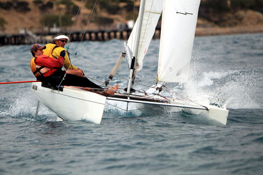 Sailing at Victor Harbour
