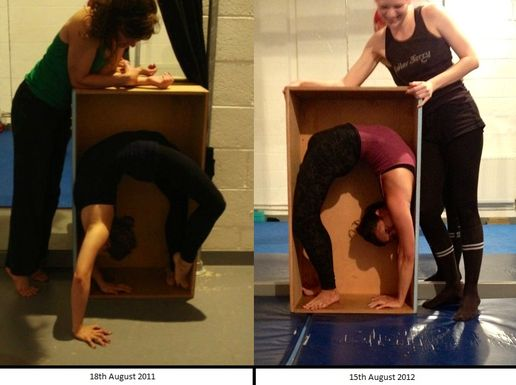 Contortion Progress