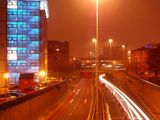 Leeds by night