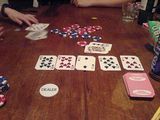 Poker with Chris and Shoes