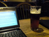 Working in the pub