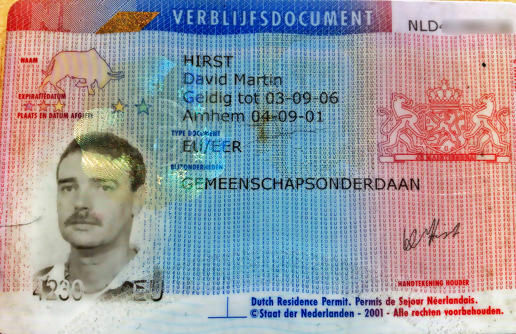 ID card week: my Dutch residence permit
