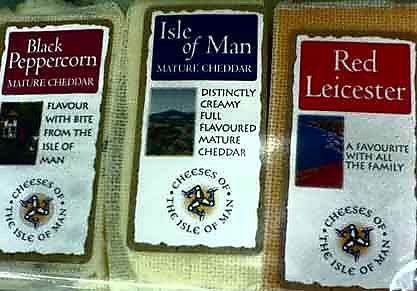 Isle of Man cheeses