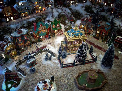 Mini-merry Crimbo-Christmas village!, at Joker's Bottle of Frogs