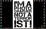 I'm a photographer not a terrorist!