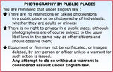 Photographers have rights too!