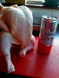 Sunday kitchen, Beer Can Chicken