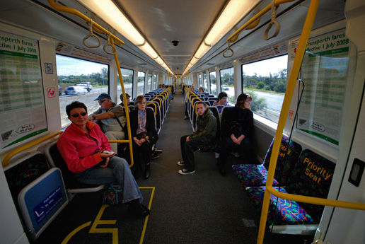Train to Mandurah & Maxine's House in Guildford