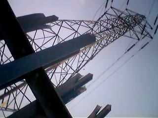 Electricity pylons in STOKE