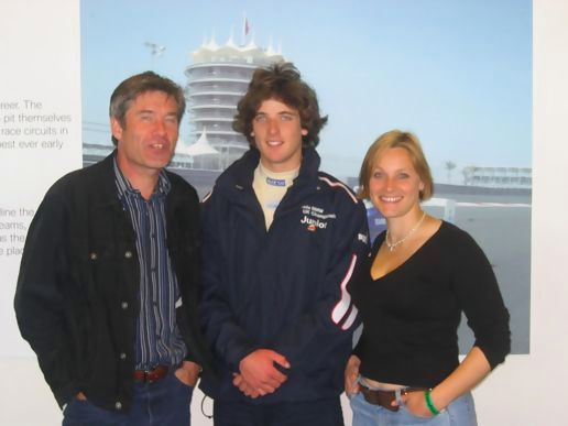 Ed Hoy with Tiff and VBH, Rockingham 2005