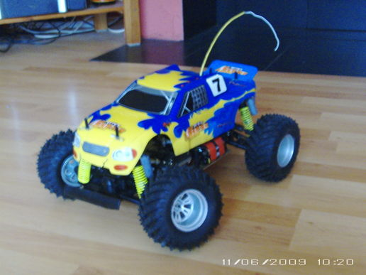 My Remote Controlled Monster Truck