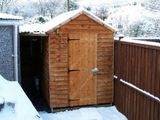 My little shed & wood shelter - built with my own fair hands...