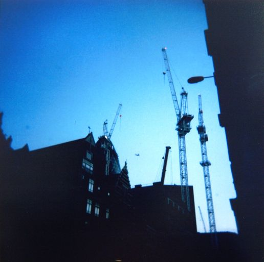 Holga in London.