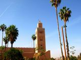 Koutoubia Minaret and Mosque.
