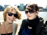 On a Thames Clipper...