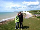 On the Cliffs of Beachy Head.