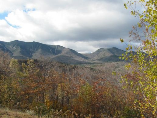 Mountains and Foliage - New Hampshire
