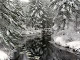 Snowy Souhegan River - Merrimack, NH