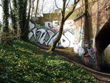 Graffiti on the Parkland Walk