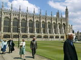 Edward at King's College, Cambridge