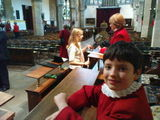 Edward before the Carol Service