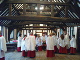 Last Evensong of the year - 2011